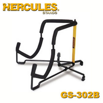 【Hercules 美國品牌】海克力斯 輕便型電吉他架 (GS302B)