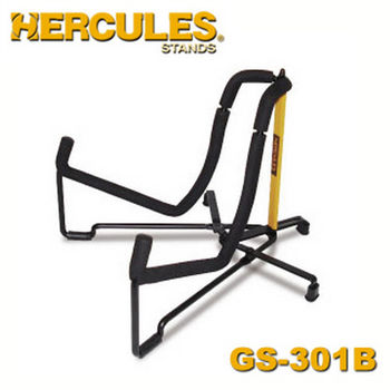 【Hercules 美國品牌】海克力斯 輕便型木吉他架 (GS301B)