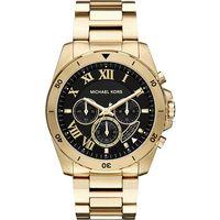 Michael Kors 雅爵羅馬計時錶 ^#45 黑x金 ^#47 44mm MK848