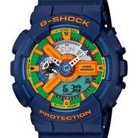 ~CASIO~G ^#45 SHOCK 新 美學機械感 休閒錶 ^#45 藍 ^#40 G