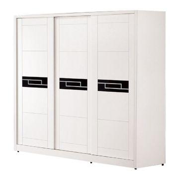 Bernice-愛羅亞白色7X7尺衣櫃