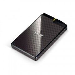 [2入組]【PROBOX】Rock HDJ-SU3 USB 3.0 2.5吋 SATAIII 菱格紋SSD HDD 硬碟外接盒 (黑.藍)