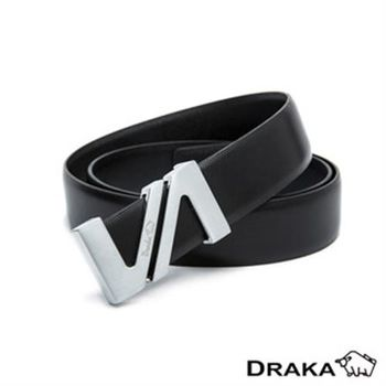 【DRAKA 達卡】紳士皮帶(41DK881-8365)