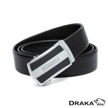 【DRAKA 達卡】自動皮帶(41DK893-2525)