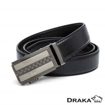 【DRAKA 達卡】自動皮帶(41DK891-7309)
