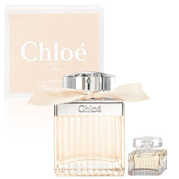 Chloe FLEUR DE PARFUM 玫瑰之心女性淡香精 75ml+同名淡香精 5ml