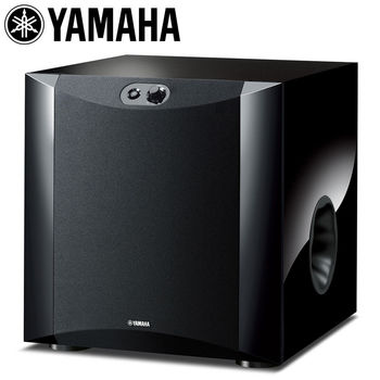 《YAMAHA》超重低音喇叭 NS-SW300(黑色鋼琴烤漆)