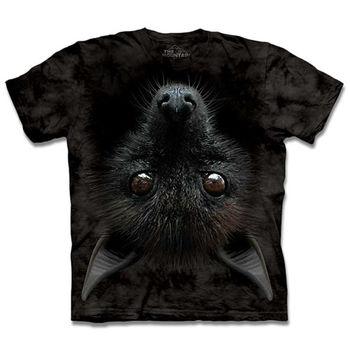 【摩達客】(預購)(男/女童裝)美國進口The Mountain 倒掛蝙蝠 純棉環保短袖T恤