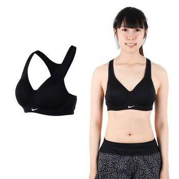 【NIKE】女背心- 慢跑 路跑 運動內衣  健身 黑