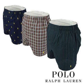 超值3件《Polo》Polo Ralph Lauren 經典馬球純棉平口褲組(VQD)