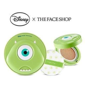 韓國THE FACE SHOP 迪士尼聯名CC持久妝感氣墊粉餅(大眼仔)氣墊粉餅