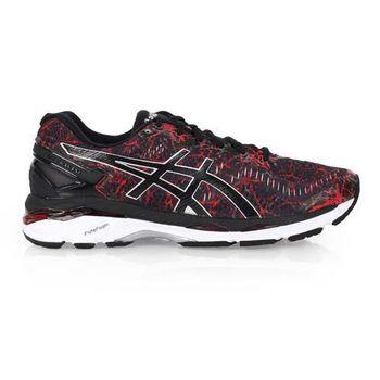 【ASICS】GEL-KAYANO 23 男慢跑鞋- 路跑 亞瑟士 黑紅銀
