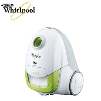 【Whirlpool惠而浦】可水洗長效型集塵袋吸塵器(VCT3801G)