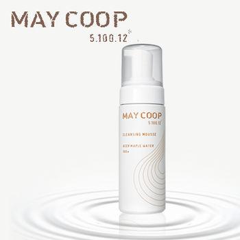 (即期品)【韓國MAYCOOP】超熱銷楓樹液泡沫潔顏慕斯150ml(綿密細緻泡泡 輕易深入肌膚底層)