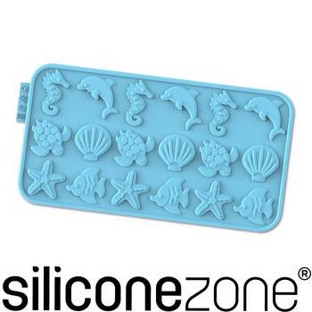 【Siliconezone】施理康耐熱矽膠海洋巧克力模