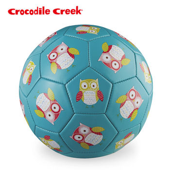 【美國Crocodile Creek】3號兒童運動遊戲足球--親親貓頭鷹