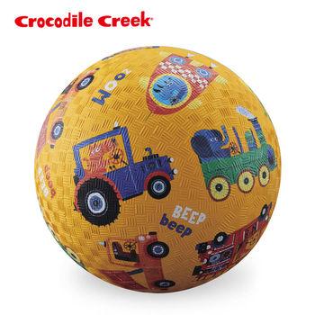 【美國Crocodile Creek】7吋兒童運動遊戲球-動物車隊