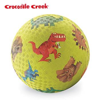 【美國Crocodile Creek】7吋兒童運動遊戲球-恐龍世界