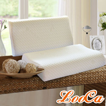LooCa 天絲纖維特大舒眠記憶枕(1入)《快速到貨》