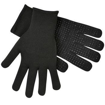 【英國 Extremities】EXT-美麗諾 彈性羊毛薄手套/黑