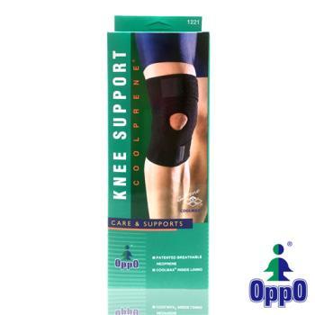 【美國OPPO】 高透氣可調式膝部束套/護膝#1221