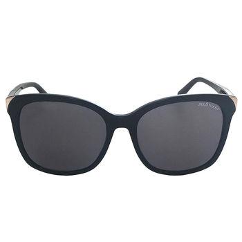 【JILL STUART 太陽眼鏡】韓系大框金屬邊-黑(JS55026 C01A)