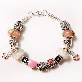 ArFFi 艾菲 夢想串珠手鍊手環-0121
