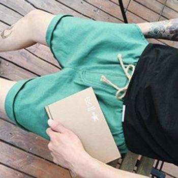 【協貿國際】休閒褲韓版潮流百搭男短褲單件
