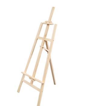 [協貿國際]145cm實木畫架木質木頭素描畫架木製美術畫板架店鋪餐廳酒店架一個價