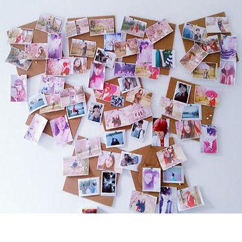 [協貿國際]自帶背膠軟木板牆照片留言宣傳欄幼兒園夢想辦公文化軟木牆貼一組價