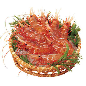 寶島福利站 鮮甜生食等級牡丹蝦(XL規格)2包(250g~包)
