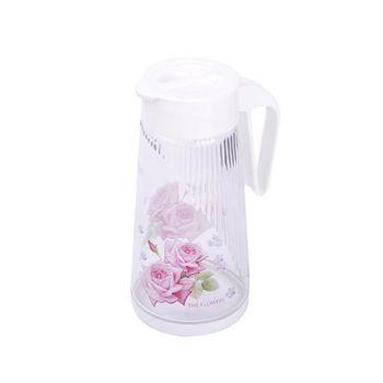 玫瑰玻璃冷水壺