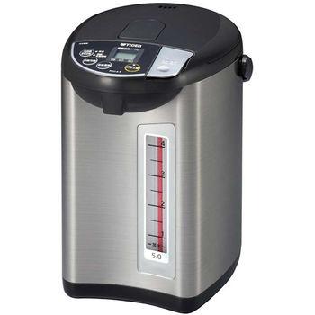 買就送:晶工電扇【虎牌】5L微電腦大按鈕電動熱水瓶 PDU-A50R