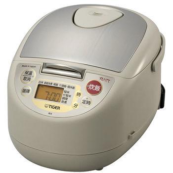 買就送:晶工電扇【虎牌】6人份微電腦電子鍋 JBA-T10R
