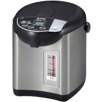 買就送:晶工電扇【虎牌】3L微電腦大按鈕電動熱水瓶 PDU-A30R
