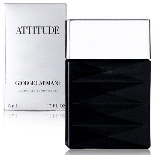 GIORGIO ARMANI 亞曼尼 態度男性淡香水 5ml