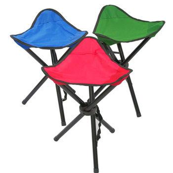 好輕巧便利折疊椅/三腳凳超值3入