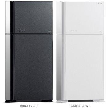★加碼贈好禮★【HITACHI日立】570公升變頻雙門冰箱 RG599