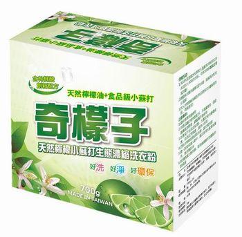奇檬子檸檬小蘇打濃縮洗衣粉6盒