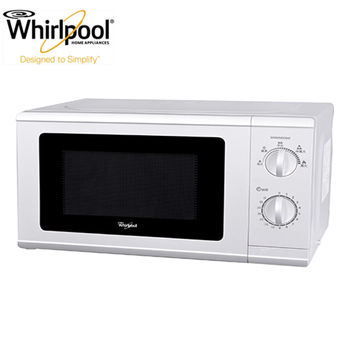 【Whirlpool惠而浦】20L機械式微波爐 WMWM200W
