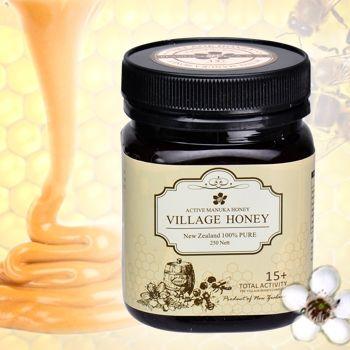 【小鎮蜂蜜】 純天然活性15+乳化麥蘆卡蜂蜜-單罐裝250g-(UMF15+)網