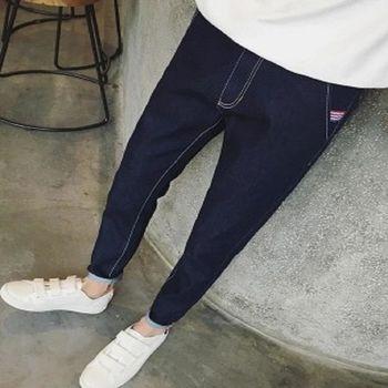 【協貿國際】潮流牛仔褲韓版修身小腳褲男單件