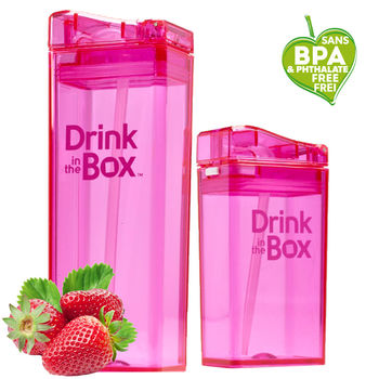 【Drink in the box】Tritan兒童運動吸管親子杯-果凍粉