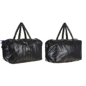 【PUMA】FIT AT運動袋 -側背包 肩背包 旅行袋 手提袋 黑灰藍