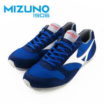 【Mizuno 美津濃】  Mizuno 1906 限量 男女休閒款慢跑鞋 RS88系列-D1GA162127 (藍白)