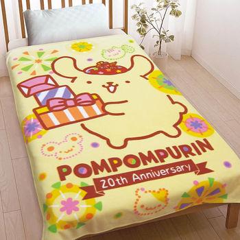 【享夢城堡】布丁狗 20週年 刷毛毯