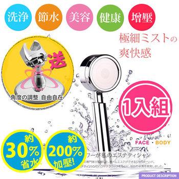 【HL生活家】加大負離子高壓SPA除氯蓮蓬頭組(HL-100)送萬向強力吸盤座
