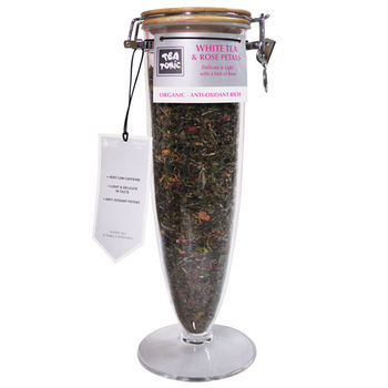 Tea Tonic澳洲茶 玫瑰花瓣白茶160g(低咖啡因)