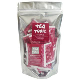 【Tea Tonic澳洲花草茶】莓果綠茶茶包組20袋(有咖啡因)
