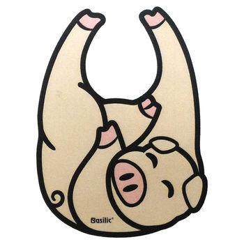 Basilic 貝喜力克造型圍兜 (豬 貓咪 兔子)3入裝